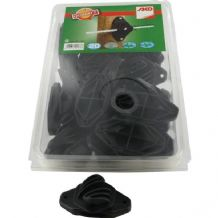 441396201 Rope insulator black 20pc